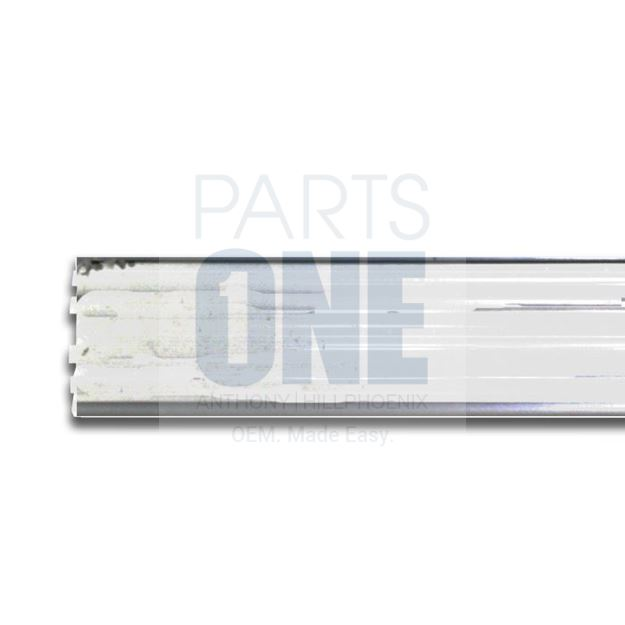 "Picture of 3 Way Aluminum Price Tag Molding - 35.875"" x 1.25"""