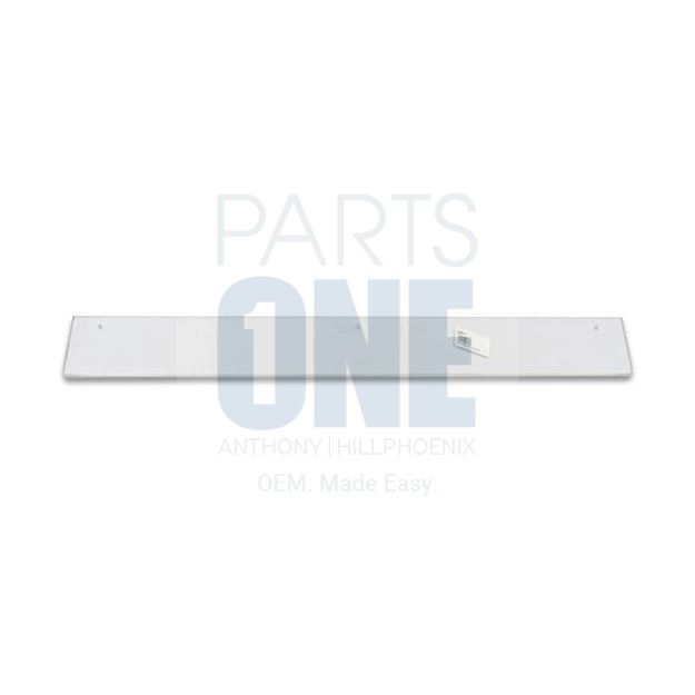 """Picture of Acrylic Glass Package Stop - 10.4375"""" x 2.75"""""""