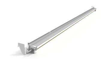 Picture of LED Shelf Kit for 4' Multideck, 2 Row, Black