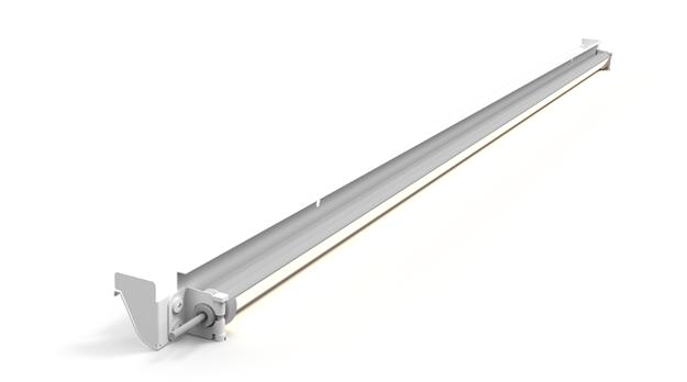Picture of LED Shelf Kit for 8' Multideck, 2 Row, Black