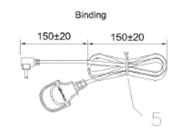 Picture of LED Shelf cord WHT