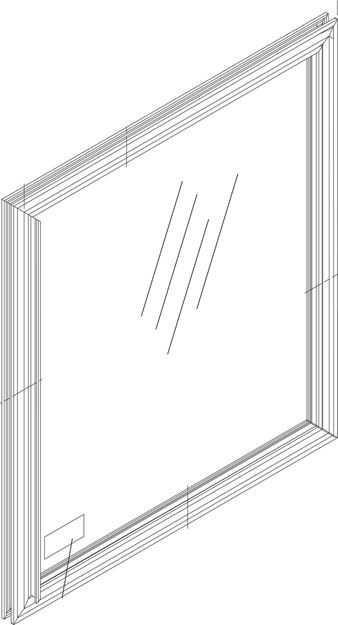 Picture of DOOR IS MIR LF/LL6