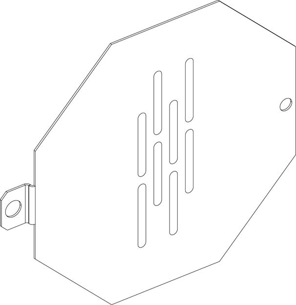 Picture of Upper Baffle Cover