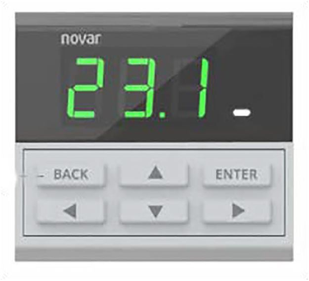 Picture of NOVAR REMOTE DISPLAY MODULE