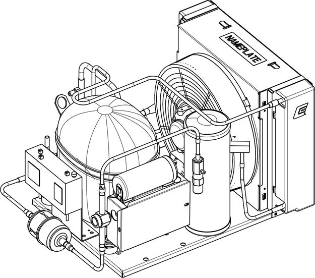 Picture of Condensing Unit Package